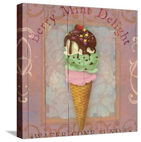 Parlor Ice Cream II-Fiona Stokes-Gilbert-Stretched Canvas Print