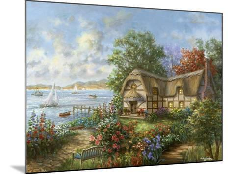 Seacove Cottage-Nicky Boehme-Mounted Giclee Print