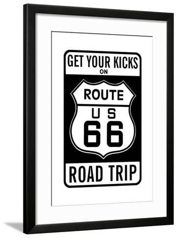 Route 66--Framed Art Print