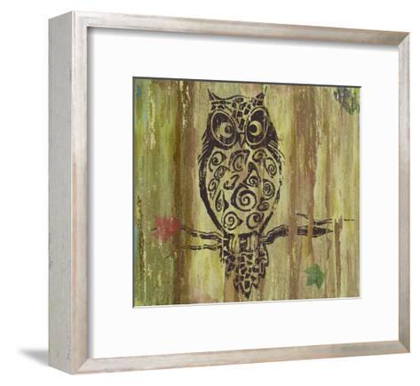 Owl-Karen Williams-Framed Art Print