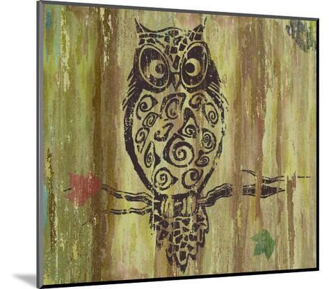 Owl-Karen Williams-Mounted Giclee Print