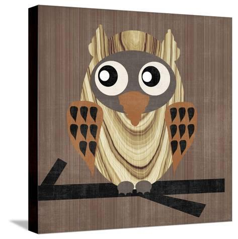 Owl 1-Erin Clark-Stretched Canvas Print