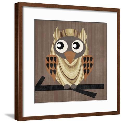 Owl 1-Erin Clark-Framed Art Print