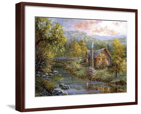 Peaceful Grove-Nicky Boehme-Framed Art Print