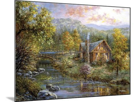 Peaceful Grove-Nicky Boehme-Mounted Giclee Print