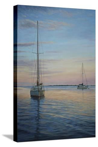 Restful Sails-Bruce Dumas-Stretched Canvas Print