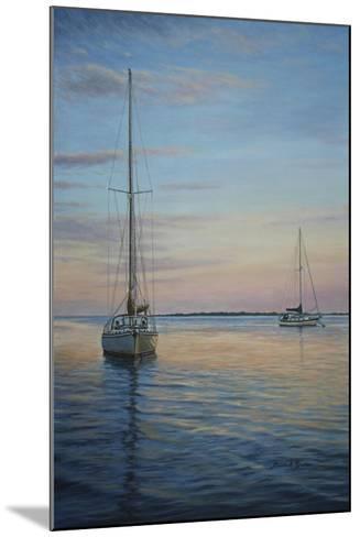 Restful Sails-Bruce Dumas-Mounted Giclee Print