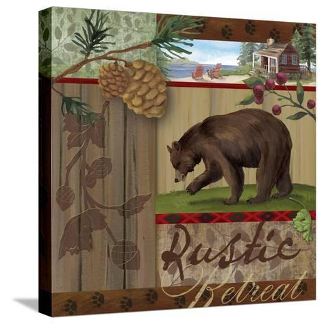 Rustic Retreat I-Fiona Stokes-Gilbert-Stretched Canvas Print