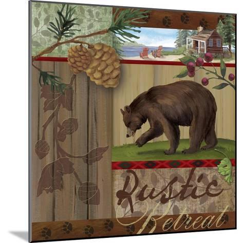 Rustic Retreat I-Fiona Stokes-Gilbert-Mounted Giclee Print