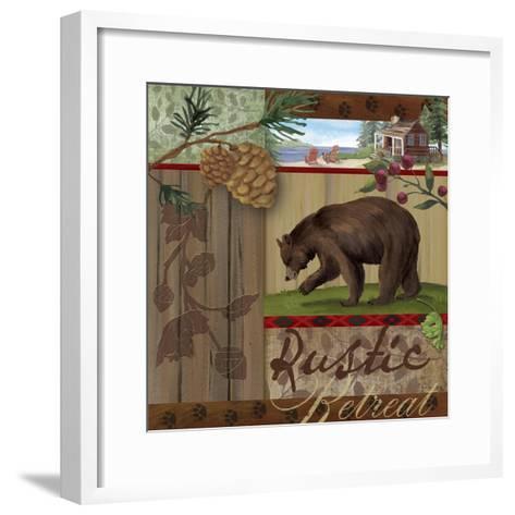 Rustic Retreat I-Fiona Stokes-Gilbert-Framed Art Print