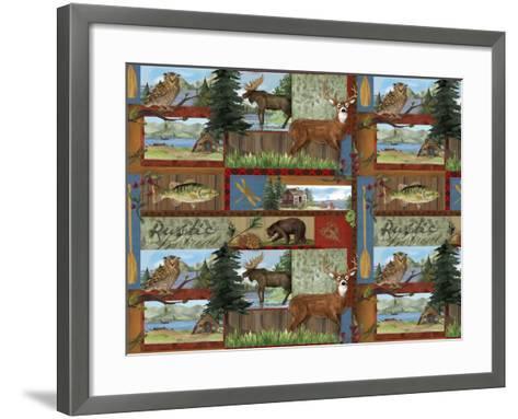 Rustic Retreat V-Fiona Stokes-Gilbert-Framed Art Print