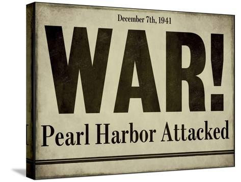 Pearl Harbor--Stretched Canvas Print