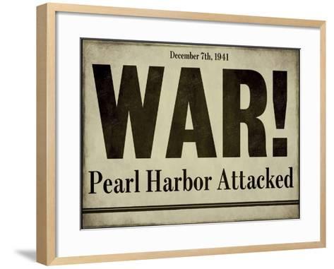 Pearl Harbor--Framed Art Print