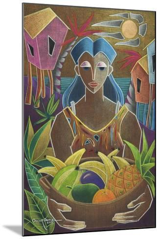 Offerings from Our Land-Oscar Ortiz-Mounted Giclee Print