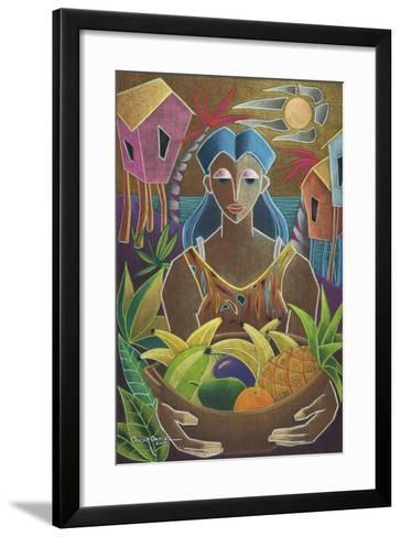 Offerings from Our Land-Oscar Ortiz-Framed Art Print