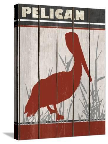 Pelican-Karen Williams-Stretched Canvas Print