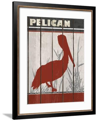 Pelican-Karen Williams-Framed Art Print