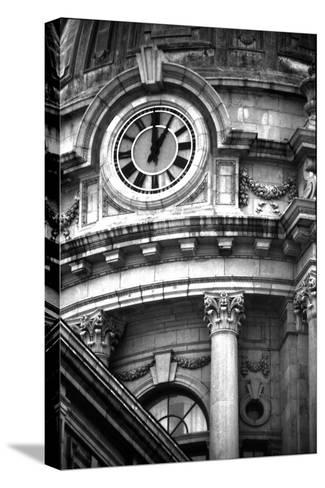 Police Building, NYC-Jeff Pica-Stretched Canvas Print