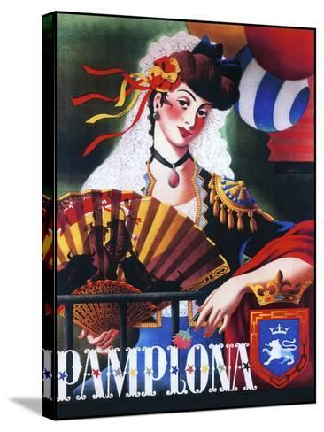 Pamplona XIII--Stretched Canvas Print