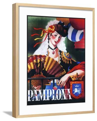 Pamplona XIII--Framed Art Print