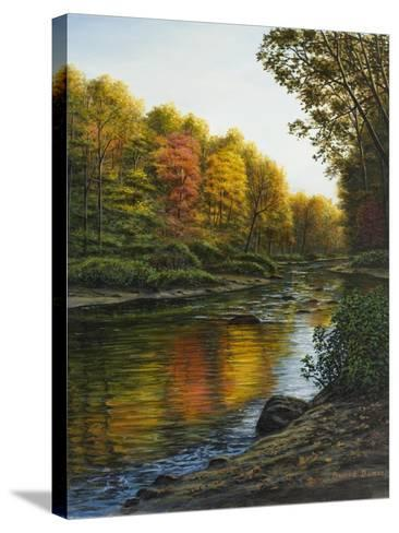 River of Gold-Bruce Dumas-Stretched Canvas Print
