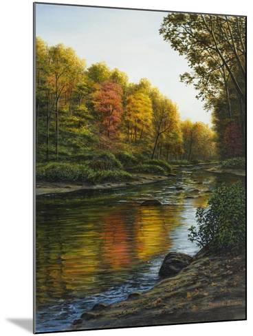 River of Gold-Bruce Dumas-Mounted Giclee Print