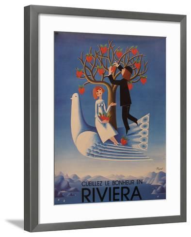 Riviera--Framed Art Print