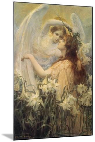 Swinstead, Two Angels--Mounted Giclee Print