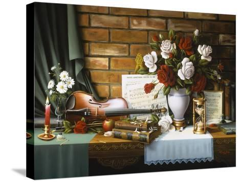 She Loves Me-R.W. Hedge-Stretched Canvas Print