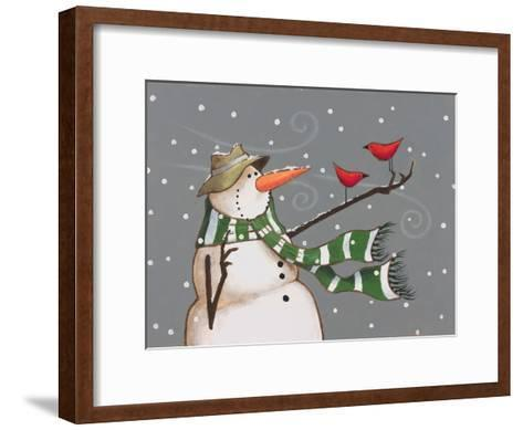 Snowman-Margaret Wilson-Framed Art Print