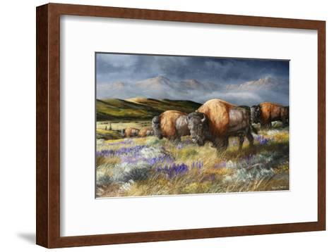 Spring Storm's Passing-Trevor V. Swanson-Framed Art Print