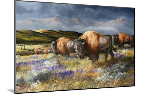 Spring Storm's Passing-Trevor V. Swanson-Mounted Giclee Print