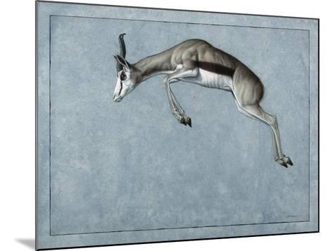 Springbok-James W. Johnson-Mounted Giclee Print