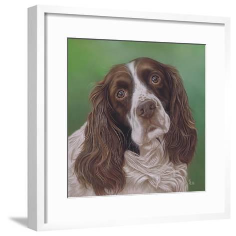 Springer Spaniel Fleck-Karie-Ann Cooper-Framed Art Print