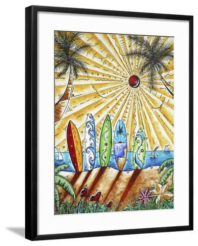 Summer Break-Megan Aroon Duncanson-Framed Art Print