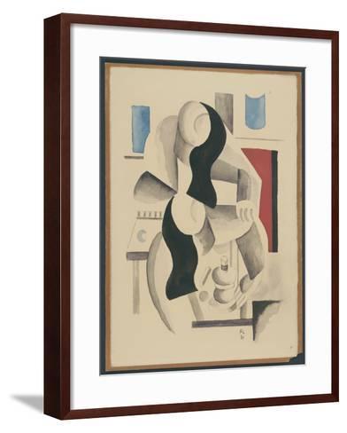 Two Women--Framed Art Print