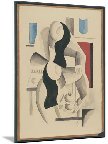 Two Women--Mounted Giclee Print