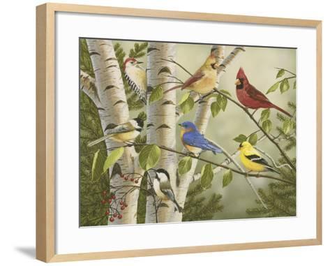 Summer Friends-William Vanderdasson-Framed Art Print