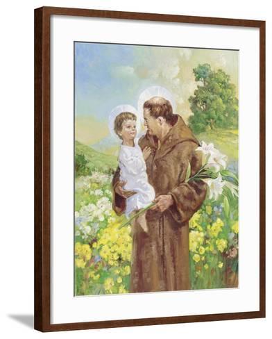 St Francis-Hal Frenck-Framed Art Print