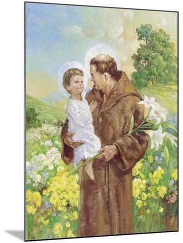 St Francis-Hal Frenck-Mounted Giclee Print