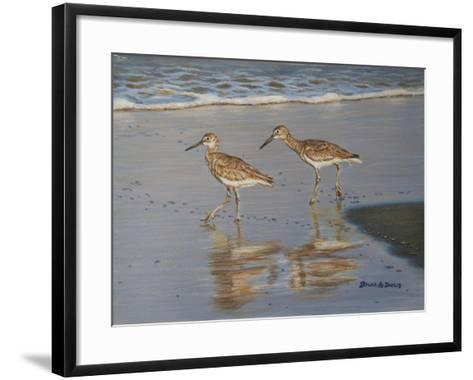 Shore Walkers-Bruce Dumas-Framed Art Print
