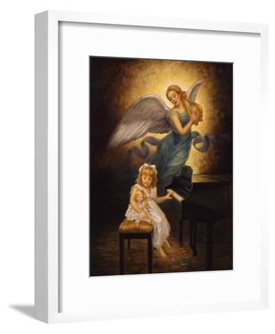 The Piano-Edgar Jerins-Framed Art Print