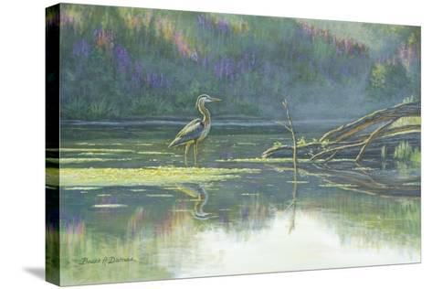 Solitary Hunter-Bruce Dumas-Stretched Canvas Print