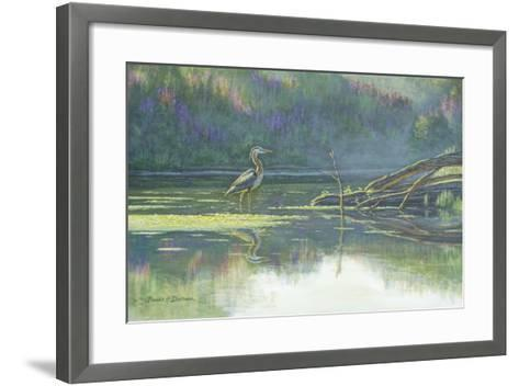 Solitary Hunter-Bruce Dumas-Framed Art Print