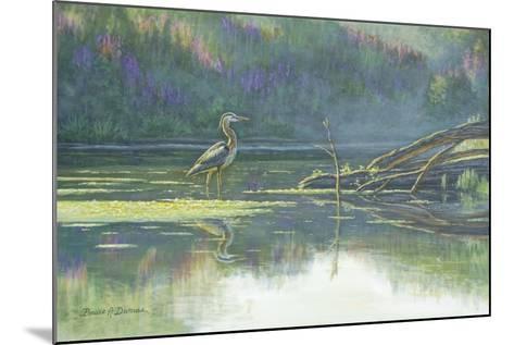 Solitary Hunter-Bruce Dumas-Mounted Giclee Print