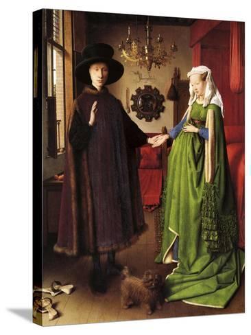 Van Eyck - the Wedding--Stretched Canvas Print