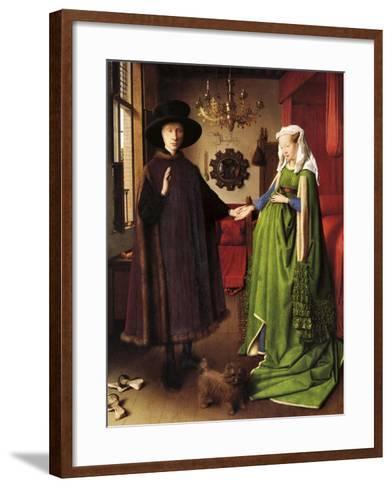 Van Eyck - the Wedding--Framed Art Print