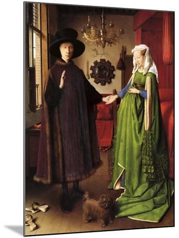 Van Eyck - the Wedding--Mounted Giclee Print