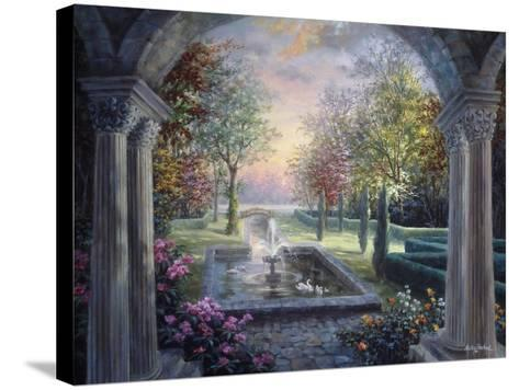 Soulful Mediterranean Tranquility-Nicky Boehme-Stretched Canvas Print