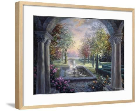 Soulful Mediterranean Tranquility-Nicky Boehme-Framed Art Print